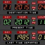El 21 de octubre de 2015, llega Marty McFly desde el antiguo 1985