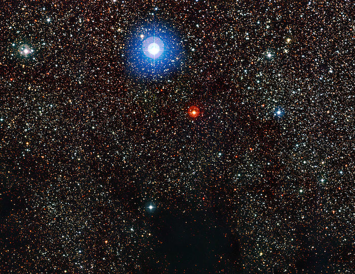Parte de la nebulosa Saco de Carbón- ESO