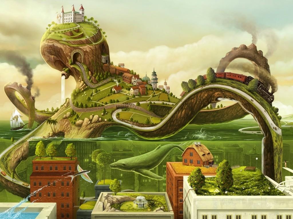 Vida en la Ciudad Verde