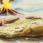 Las erupciones volcánicas también provocaron la extinción de los dinosaurios