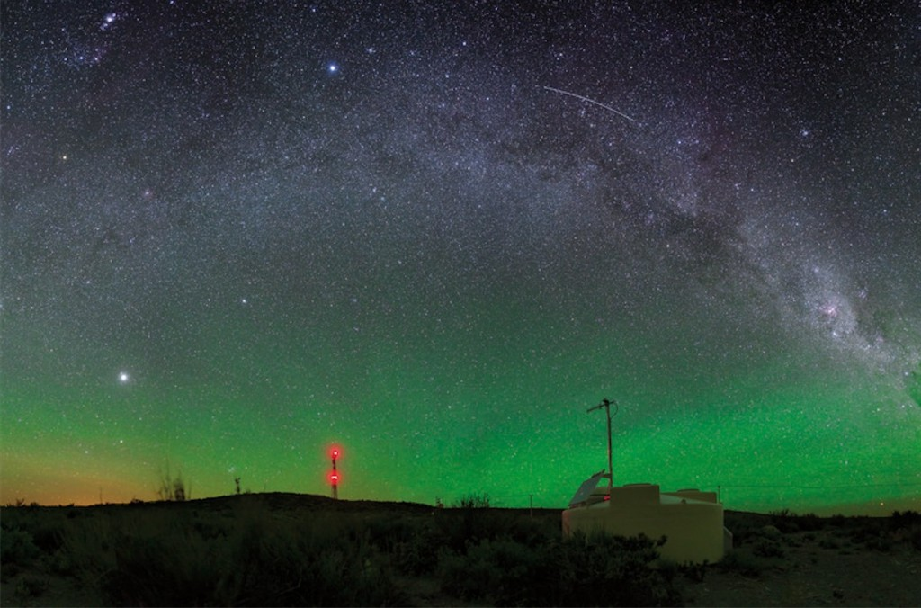 Detector de superficie del Observatorio Pierre Auger- Steven Saffi, Pierre Auger Collaboration c