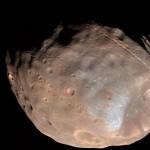 Fobos, la mayor luna de Marte, terminará por desintegrarse y caer en el planeta rojo