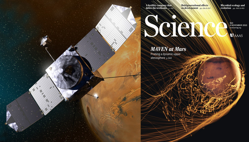 Maven en Marte- NASA, Valerie Altounian_Science, X Fang, MAVEN science team