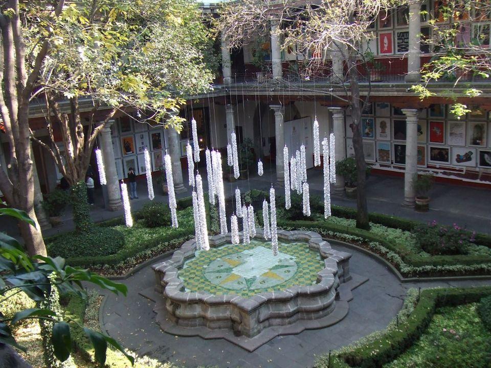 Patio del Museo Franz Mayer, Ciudad de México
