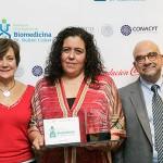 """Premio """"Dr. Rubén Lisker"""" a María Antonieta Chávez González, por su investigación para combatir la leucemia"""