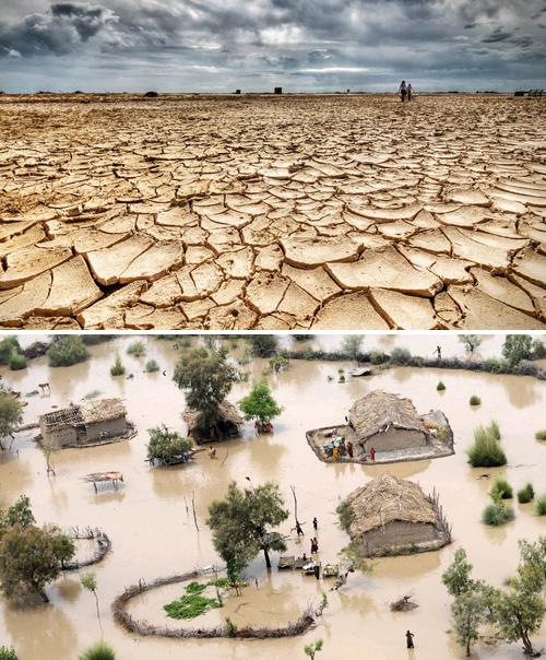 Sequía e inundación- www.cop21paris.org