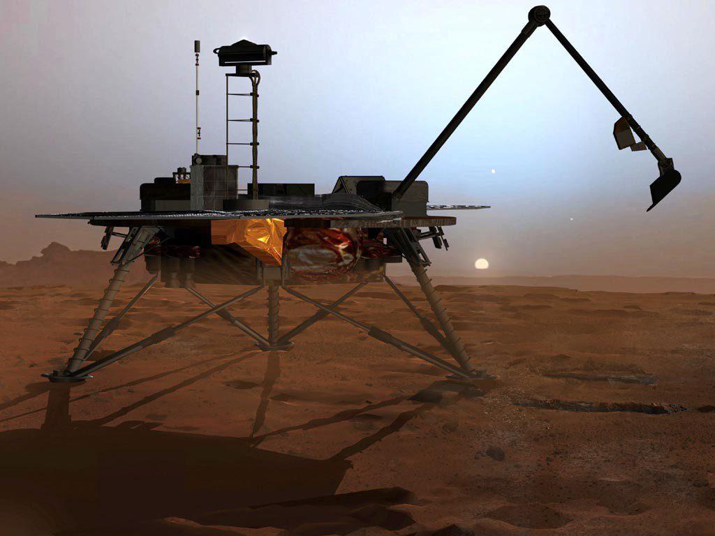 Sonda Phoenix en Marte