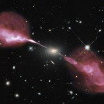 Un agujero negro supermasivo en acción