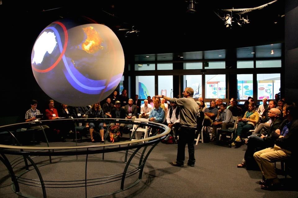 Un planeta virtual para enseñar la ciencia de la Tierra- NOAA