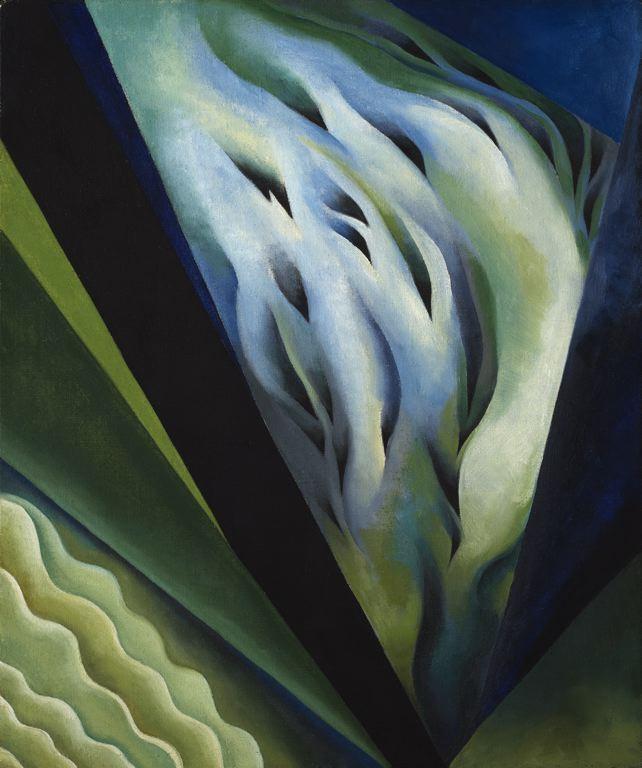 Blue and Green Music, Georgia O'Keeffe, 1919_21
