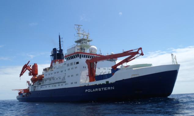 Buque científico Polarstern- Anastasija Zaiko