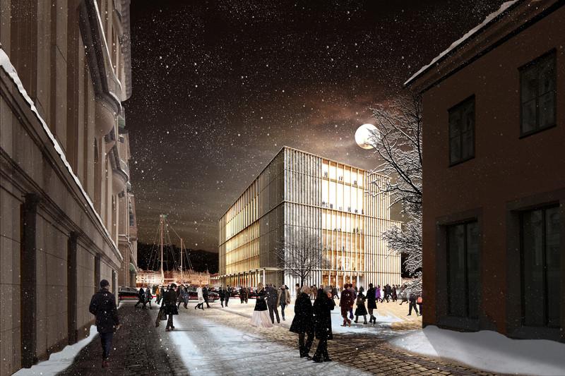 Centro Nobel, en Estocolmo, Suecia- David Chipperfield Architects