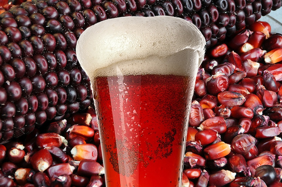 Cerveza a partir de maíz