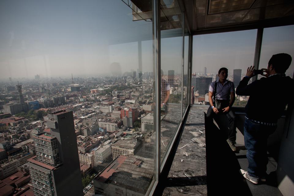 Contaminación, Ciudad de México, Pedro Mera, Xinhua (archivo)