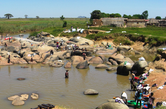 El río Cubal, en Angola- Cristina Bocanegra