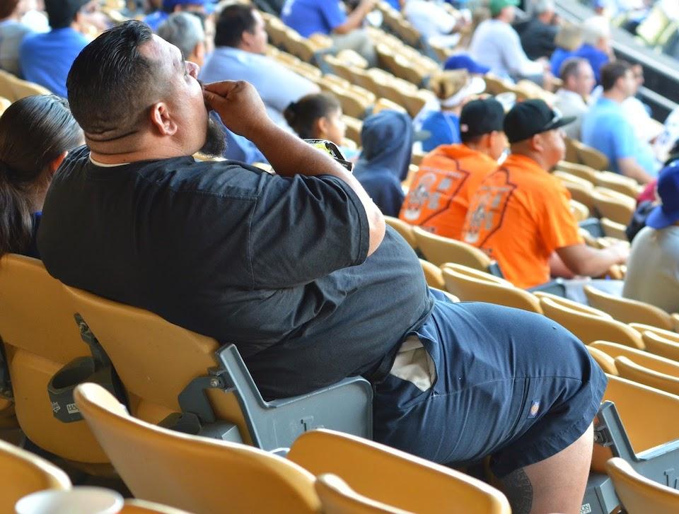 Hombre obeso- Maligering