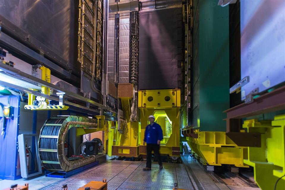 Instalaciones del detector LHCb- CERN