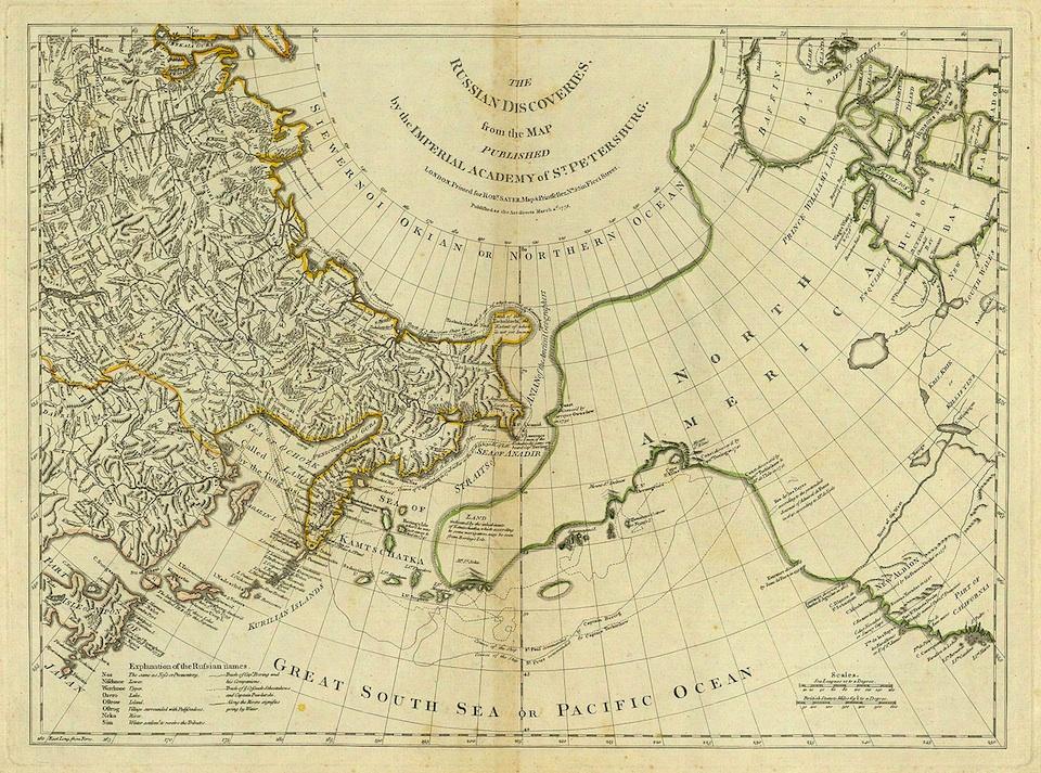 Mapa de Vitus Jonassen