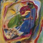 Pintura con tres manchas, nº 196, Vasili Kandinsky, 1914