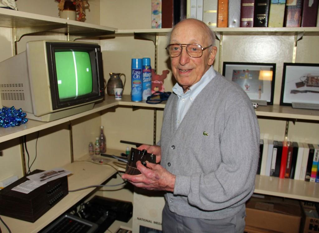 Ralph H. Baer, el padre de los videojuegos- OUGH