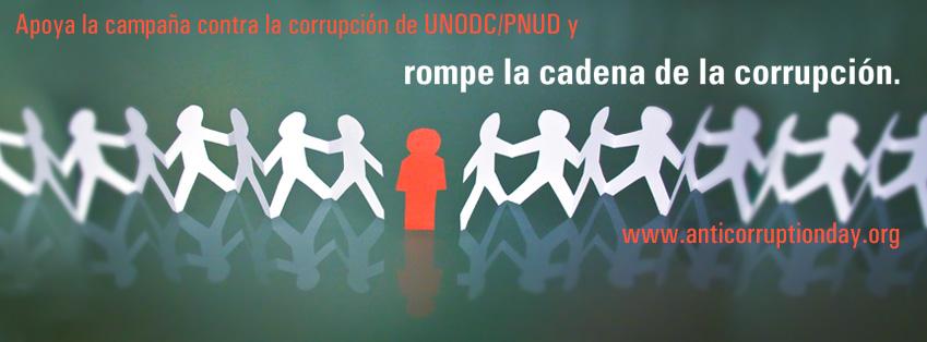 Rompe la cadena de la corrupción