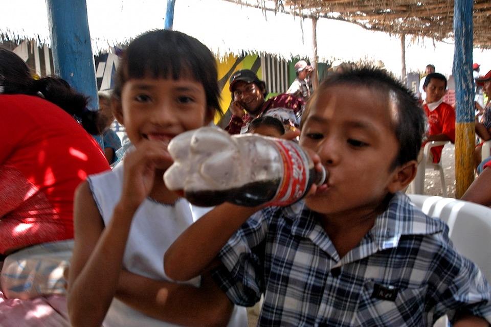 Consumo de refrescos