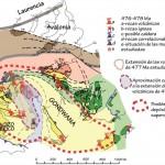 Un 'supervolcán' arrasó el norte de la península ibérica hace 477 millones de años