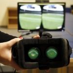 Videojuegos de fútbol para rehabilitar el hombro
