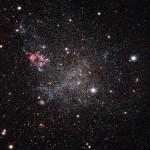 Una galaxia obsesiva de la limpieza, con poco polvo estelar