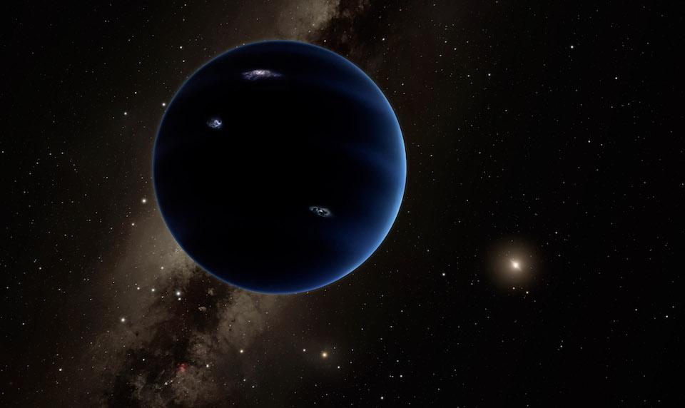 Representación del nuevo planeta- Caltech/R. Hurt (IPAC)