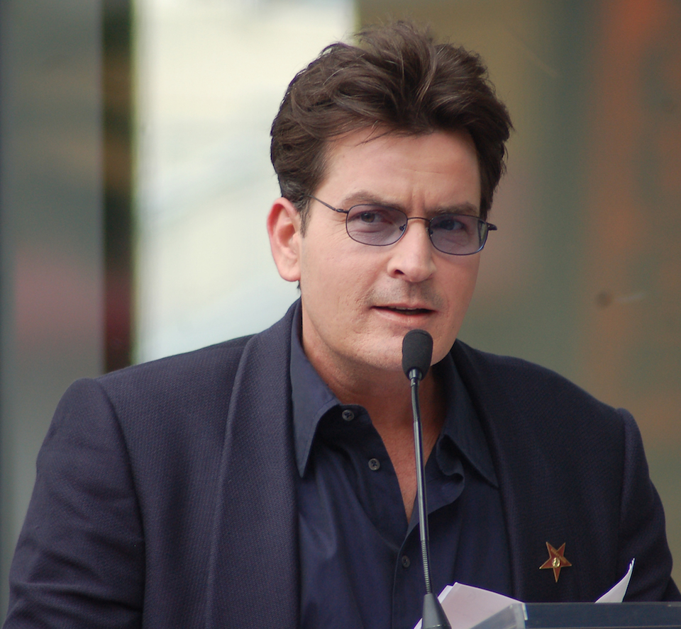 Charlie Sheen, marzo de 2009