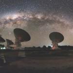 Materia 'perdida' en el universo, revelada por una ráfaga de radio