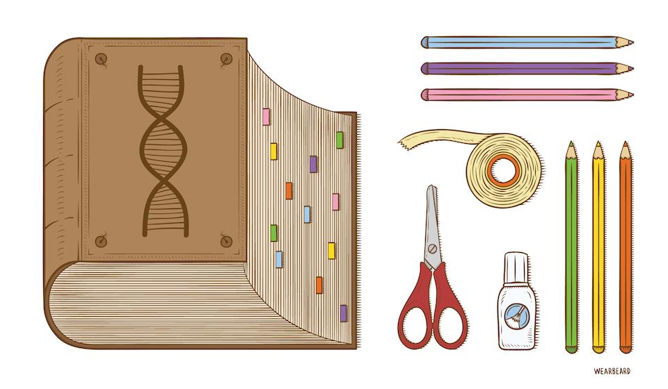 La edición del código genético- Wearbeard, SINC