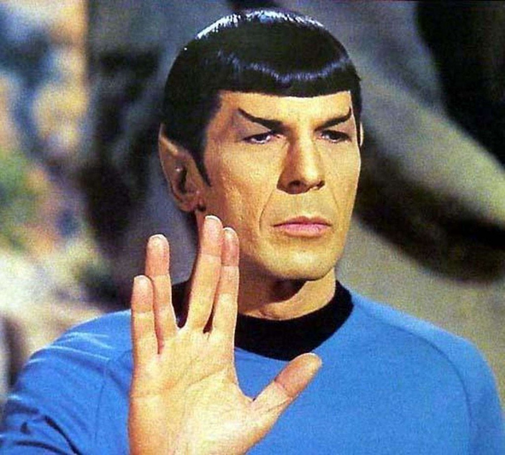 Leonard Nimoy, comandante Spock de Star Treck