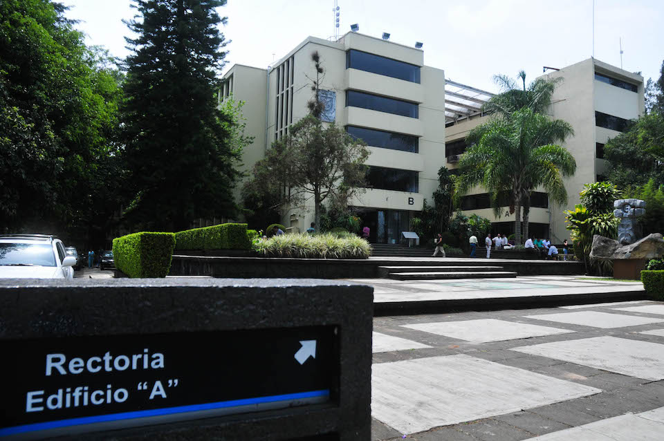 Rectoría de la UV