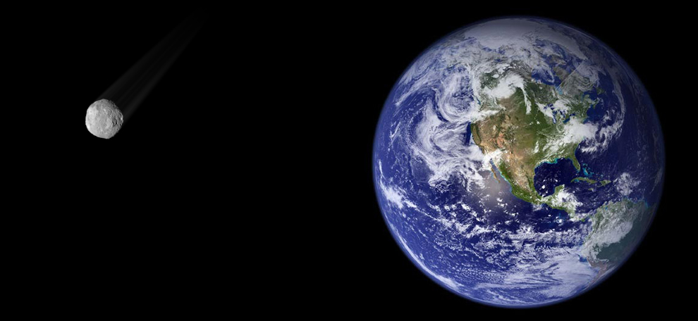 Un pequeño asteroide pasará cerca de la Tierra el 5 de marzo; aunque podría impactar en 2017