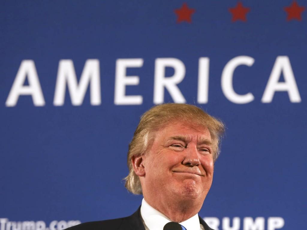 Donald Trump- Cheryl Senter, AP
