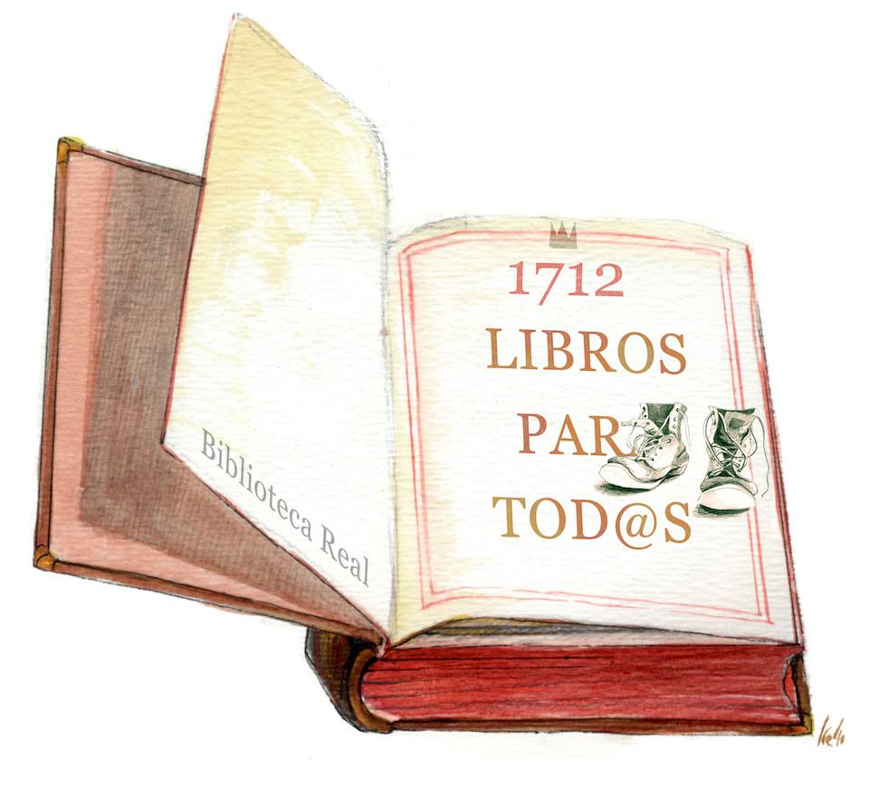 La Biblioteca Nacional de España, en funciones desde el 1 de marzo de 1712