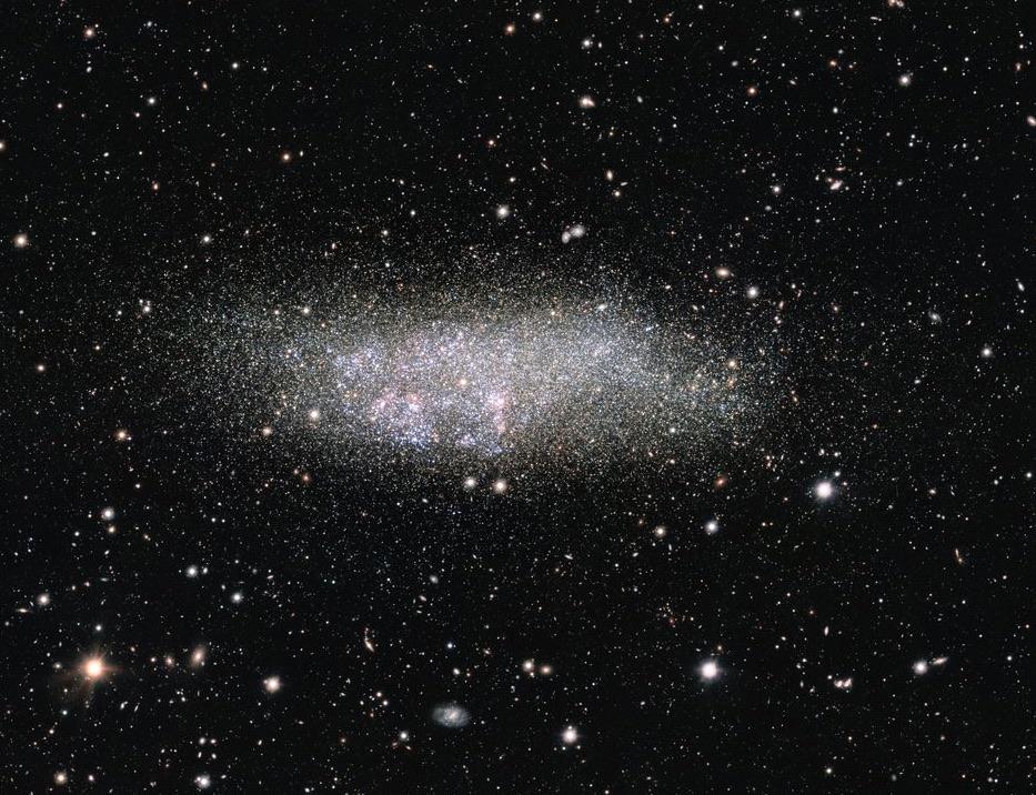 WLM, la remota galaxia solitaria