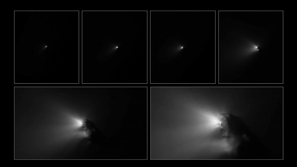 Giotto fue el primero en ver el núcleo de un cometa