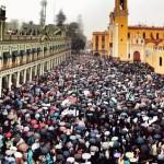 Manifestación de la UV en Xalapa- Miguel Polanco