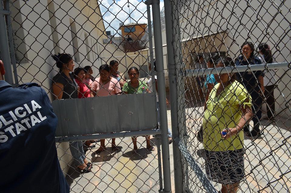 Mujeres indígenas en prisión
