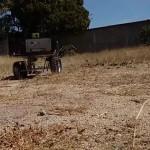 Robot sembrador de maíz que se controla vía Bluetooth