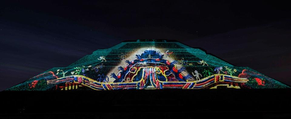 Teotihuacán, iluminación nocturna 14- Rocio Necoechea