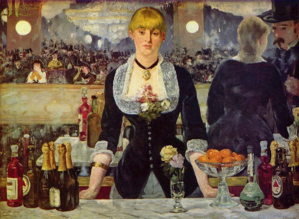 Bar del Folies-Bergère, Edouard Manet, 1882