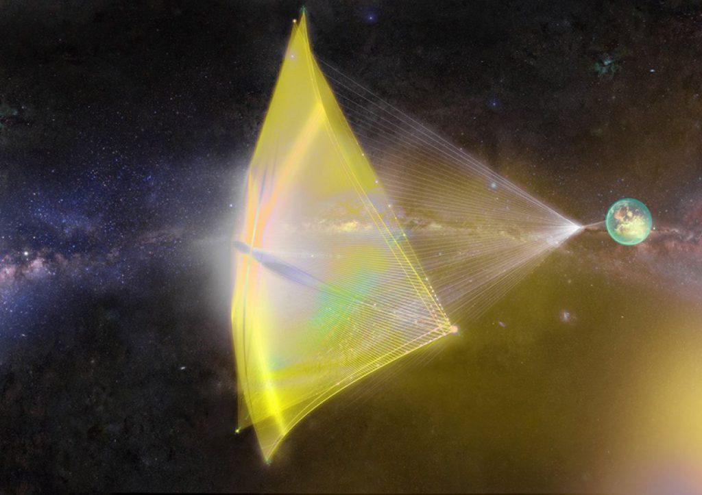 Breakthrough Starshot, un velero de luz interestelar