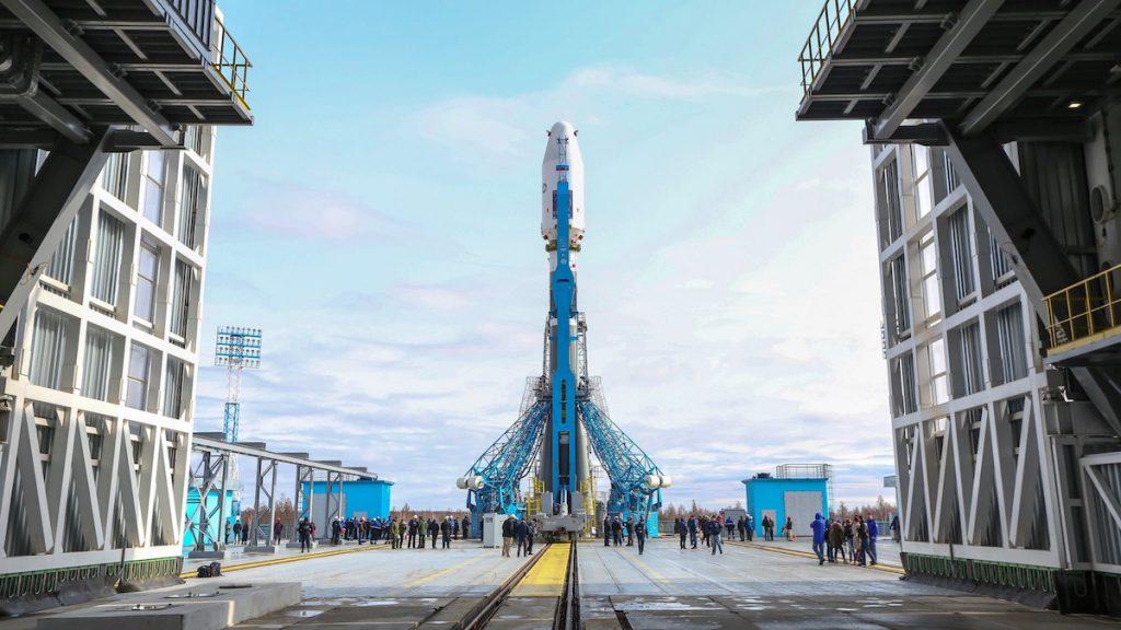 Cosmódromo de Vostochny, con Cohete Soyuz- IAA-CSIC