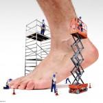 Medicamento en aerosol que alivia heridas crónicas y mejora el pie diabético
