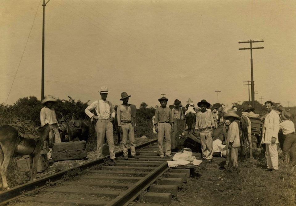 Fototografías de Hugo Brehme, invasión estaodunidense de 1914 a Mexico-SINAFO-FN-Mexico