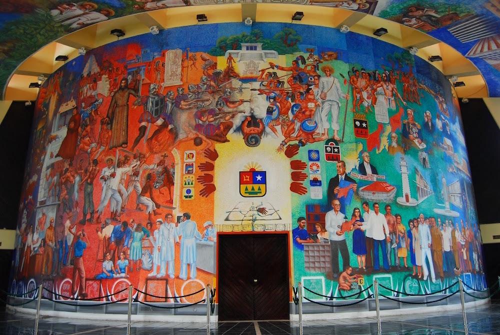 Mural Ley del Congreso de Quintana Roo, Elio Carmichael